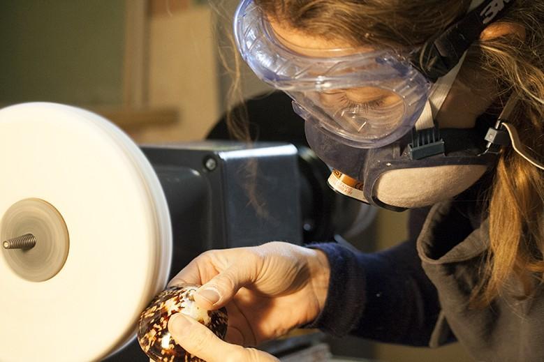 Atelier de préparation des coquillages d'allaitement
